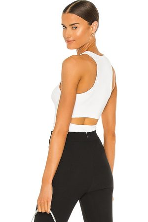 525 America Camiseta tirantes en color blanco talla L en - White. Talla L (también en XS, S, M).