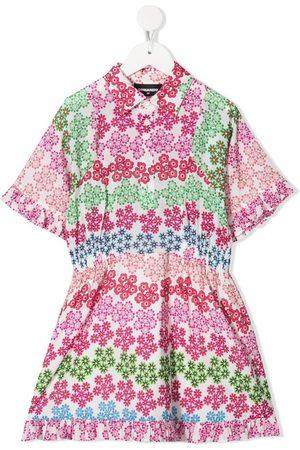 Dsquared2 Vestido con estampado floral
