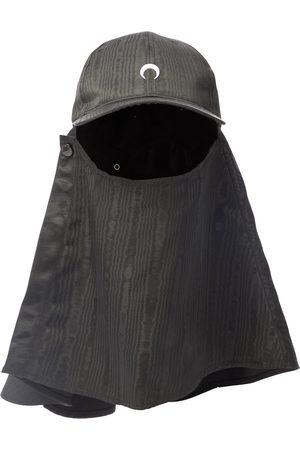 Marine Serre Mujer Sombreros - Moiré hat