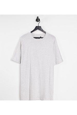 Brave Soul Tall roll sleeve t