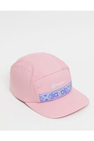 Berghaus Aztec cap in pink
