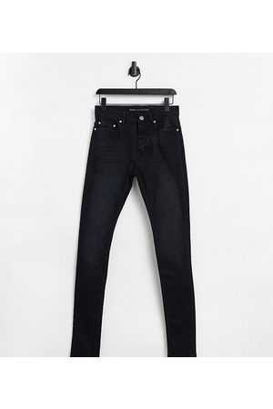 Brave Soul Hombre Skinny - Tall ultimate skinny jeans in charcoal