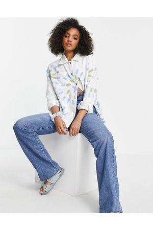 Daisy Street Relaxed shirt in tie dye co