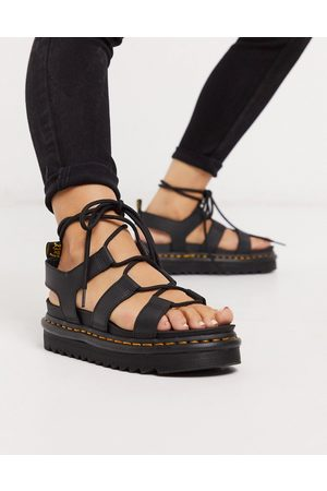 Dr. Martens Nartilla Lace Up Chunky Sandal