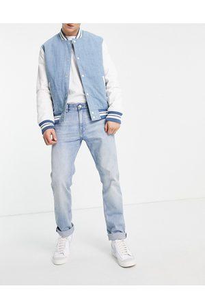 Weekday Hombre Rectos - Easy Jeans in Poppy Blue