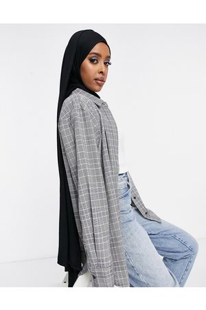 ASOS Extra large headscarf in black