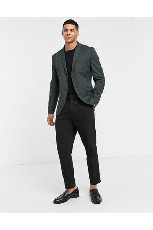 SELECTED Suit jacket slim fit green