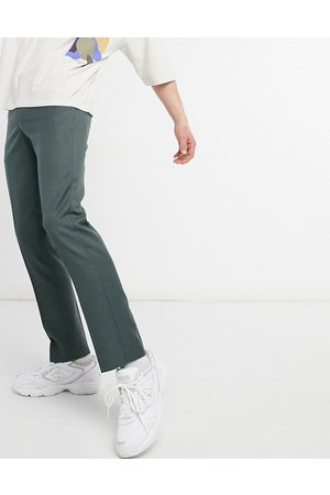 River Island Skinny smart trousers in green