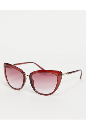 Lipsy London Cat eye sunglasses with red frame