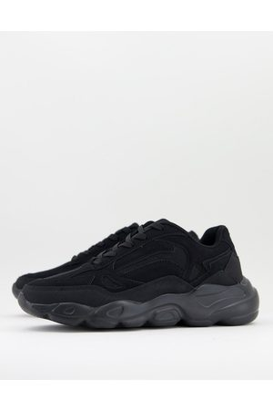 ASOS Hombre Tenis - Trainers in black with chunky sole