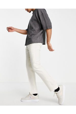 Twisted Tailor Hombre Pantalones y Leggings - Linen suit trousers in stone white