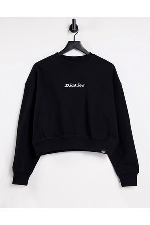 Dickies Mujer Con capucha - Loretto boxy sweatshirt in black