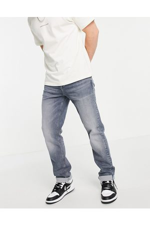 River Island Straight jeans in light blue