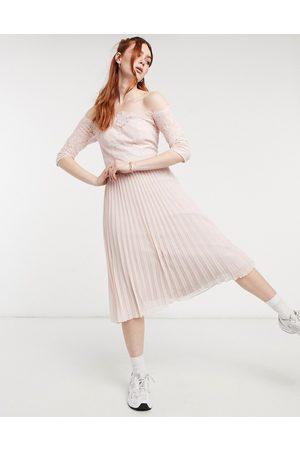 Chi Chi London Rhiann dress in pink