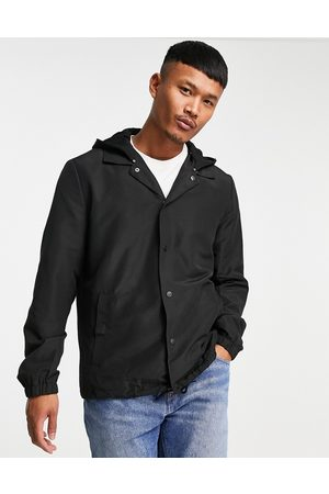 Only & Sons Hombre Chamarras - Coach jacket with hood in black