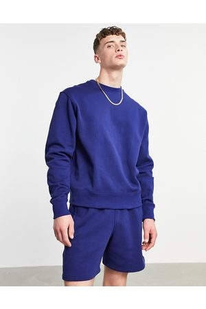 adidas Hombre Con capucha - X Pharrell Williams premium sweatshirt in dark navy