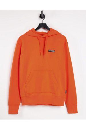 Napapijri Mujer Con capucha - Patch hoodie in orange