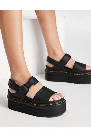 Dr. Martens Voss Quad sandals in black