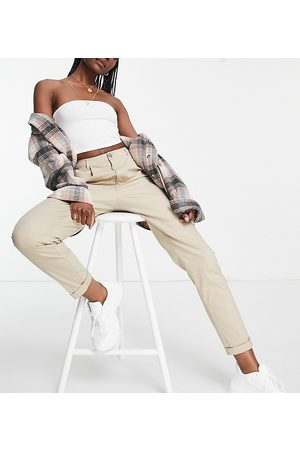 ASOS Mujer Chinos - ASOS DESIGN Tall hourglass chino trousers in stone