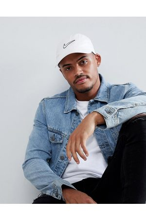 Nike Hombre Gorras - H86 Swoosh washed cap in white