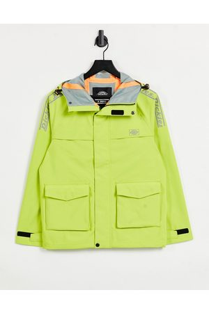 Dickies Hombre Chamarras - Pine Ville jacket in lime green