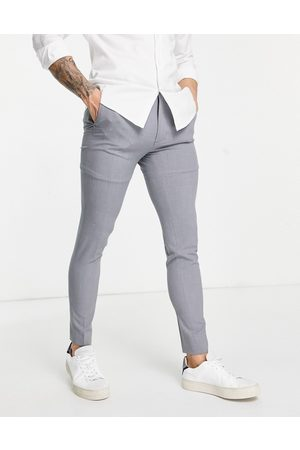ASOS Super skinny suit trousers in mid grey