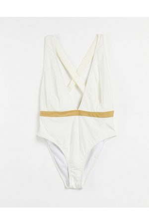 Chelsea Peers Mujer Trajes de baño completos - High leg swimsuit with criss cross back