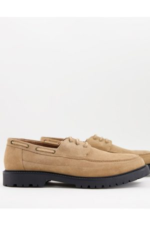 H by Hudson Keilder chunky boat shoes in suede