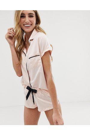 BlueBella Mujer Pijamas - Abigail Satin Short Pyjama Set