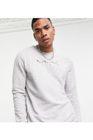 PUMA Repeat cat logo sweatshirt in grey