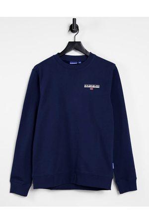 Napapijri Box sweatshirt in navy