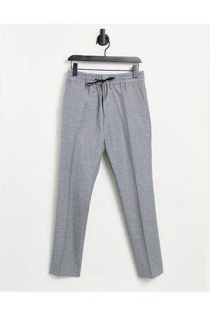HUGO BOSS HUGO Howard 204 extra slim fit elasticated wool trousers