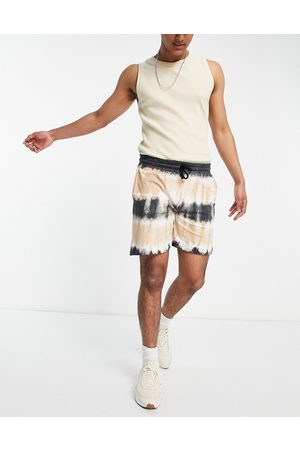 Another Influence Tie dye jersey shorts co