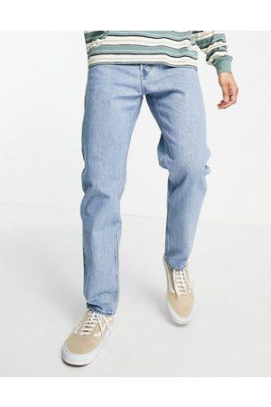 Weekday Barrel Jeans in Pen Blue