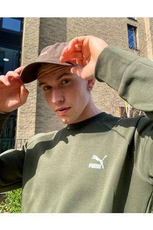 PUMA Classics Tech sweatshirt in forest green