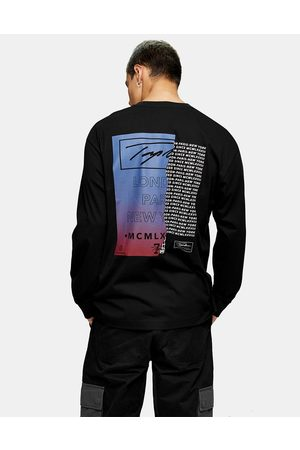 Topman Hombre Playeras - Signature front and back printed t
