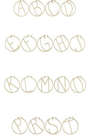Retrofete Aros en color oro metálico talla A en - Metallic Gold. Talla A (también en J, K, M, S).
