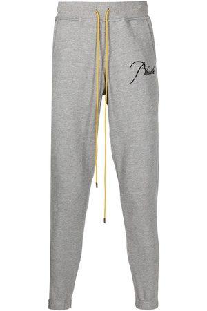 Rhude Hombre Pantalones y Leggings - Pants con cordones en la pretina y logo estampado
