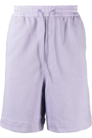 Y-3 Hombre Shorts - Shorts deportivos con logo estampado