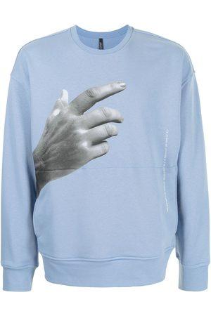 Neil Barrett Hombre Sudaderas - Sudadera con estampado The Other Hand Series