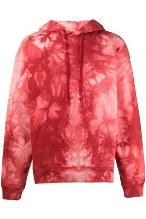 MARTINE ROSE Hombre Con capucha - Hoodie con estampado tie-dye