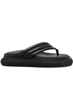 The Attico Mujer Flip flops - Flip flops con suela gruesa