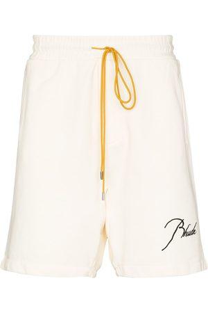 Rhude Shorts deportivos con parche del logo