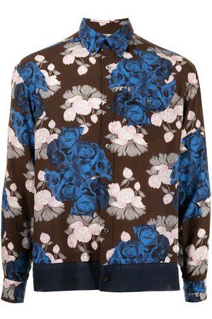 UNDERCOVER Hombre Camisas - Camisa con estampado floral