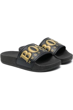 BOSS Kidswear Niño Sandalias - Sandalias con logo estampado