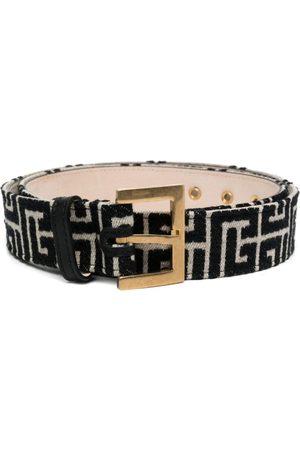 Balmain Mujer Cinturones - Cinturón con motivo de monograma B de x Nataal