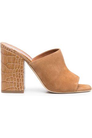 PARIS TEXAS Mujer Sandalias - Sandalias con efecto de piel de cocodrilo