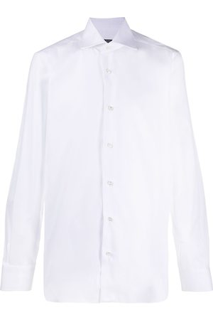 Barba Camisa de vestir con cuello italiano