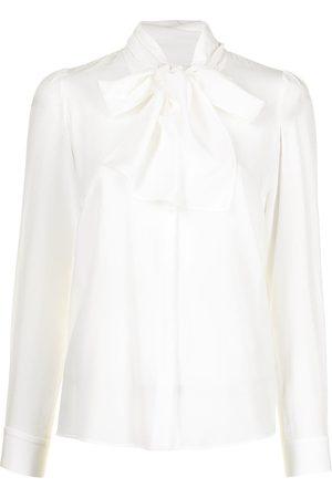 Paule Ka Mujer Blusas - Blusa con lazo en el cuello