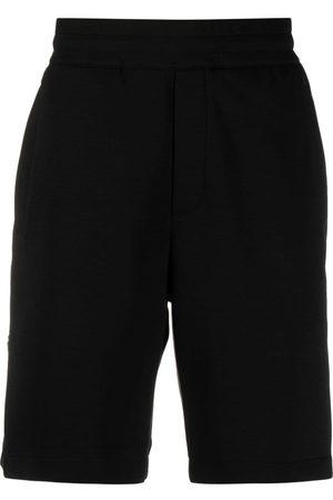 Emporio Armani Shorts deportivos con logo bordado